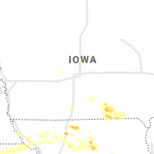 Regional Hail Map for Des Moines, IA - Thursday, August 29, 2019