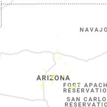 Regional Hail Map for Flagstaff, AZ - Thursday, August 29, 2019
