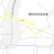 Regional Hail Map for Grand Rapids, MI - Thursday, August 29, 2019