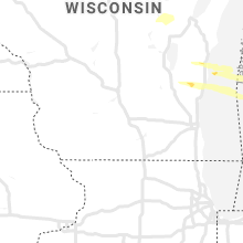 Regional Hail Map for Madison, WI - Thursday, August 29, 2019