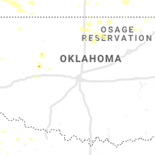 Regional Hail Map for Oklahoma City, OK - Thursday, August 29, 2019