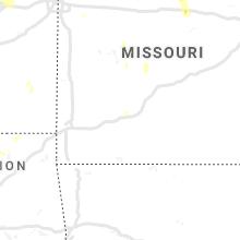 Regional Hail Map for Springfield, MO - Thursday, August 29, 2019