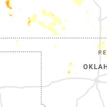 Regional Hail Map for Woodward, OK - Thursday, August 29, 2019