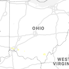 Regional Hail Map for Columbus, OH - Friday, August 30, 2019