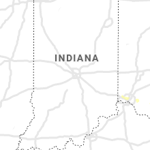 Regional Hail Map for Indianapolis, IN - Friday, August 30, 2019