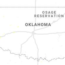 Regional Hail Map for Oklahoma City, OK - Friday, August 30, 2019