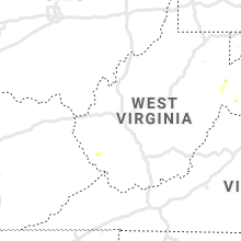 Regional Hail Map for Charleston, WV - Saturday, August 31, 2019