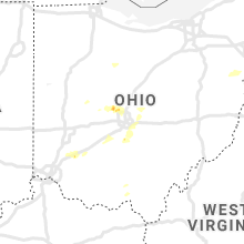 Regional Hail Map for Columbus, OH - Sunday, September 1, 2019