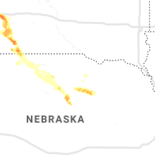 Regional Hail Map for Oneill, NE - Sunday, September 1, 2019