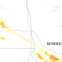 Regional Hail Map for Fargo, ND - Monday, September 2, 2019