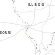 Regional Hail Map for Saint Louis, MO - Sunday, September 8, 2019
