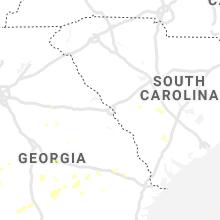 Regional Hail Map for Augusta, GA - Monday, September 9, 2019