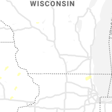 Regional Hail Map for Madison, WI - Monday, September 9, 2019