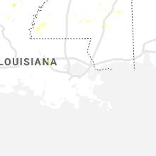 Regional Hail Map for New Orleans, LA - Monday, September 9, 2019