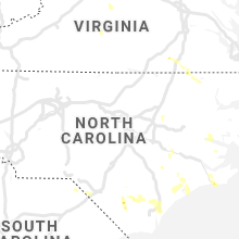 Regional Hail Map for Raleigh, NC - Monday, September 9, 2019