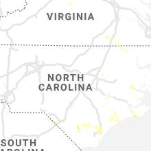 Regional Hail Map for Raleigh, NC - Monday, September 9, 2019