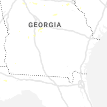 Regional Hail Map for Douglas, GA - Tuesday, September 10, 2019