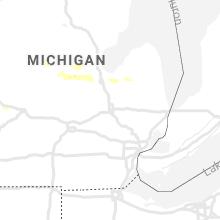 Regional Hail Map for Flint, MI - Tuesday, September 10, 2019