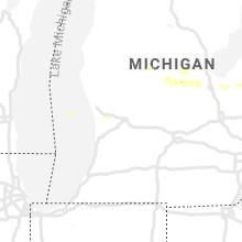 Regional Hail Map for Grand Rapids, MI - Tuesday, September 10, 2019