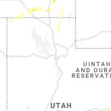 Regional Hail Map for Salt Lake City, UT - Tuesday, September 10, 2019