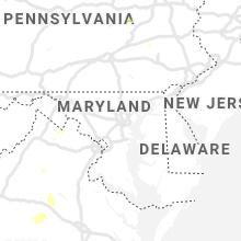 Regional Hail Map for Baltimore, MD - Wednesday, September 11, 2019