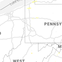 Regional Hail Map for Pittsburgh, PA - Wednesday, September 11, 2019