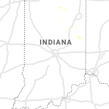 Regional Hail Map for Indianapolis, IN - Thursday, September 12, 2019