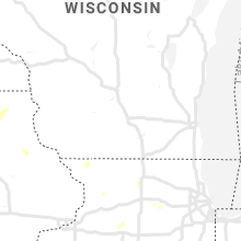 Regional Hail Map for Madison, WI - Thursday, September 12, 2019