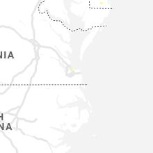 Regional Hail Map for Virginia Beach, VA - Thursday, September 12, 2019