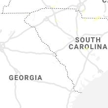 Regional Hail Map for Augusta, GA - Friday, September 13, 2019