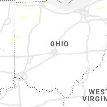 Regional Hail Map for Columbus, OH - Friday, September 13, 2019