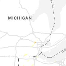 Regional Hail Map for Flint, MI - Friday, September 13, 2019