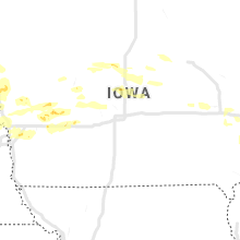 Regional Hail Map for Des Moines, IA - Saturday, September 14, 2019