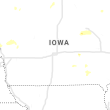 Regional Hail Map for Des Moines, IA - Wednesday, September 18, 2019