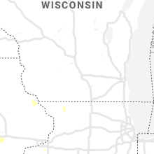 Regional Hail Map for Madison, WI - Thursday, September 19, 2019