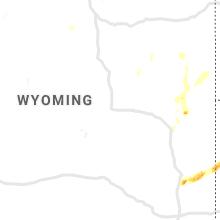 Regional Hail Map for Casper, WY - Friday, September 20, 2019