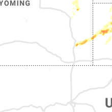 Regional Hail Map for Laramie, WY - Friday, September 20, 2019
