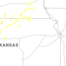 Regional Hail Map for Manhattan, KS - Saturday, September 21, 2019