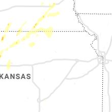 Hail Map for manhattan-ks 2019-09-21