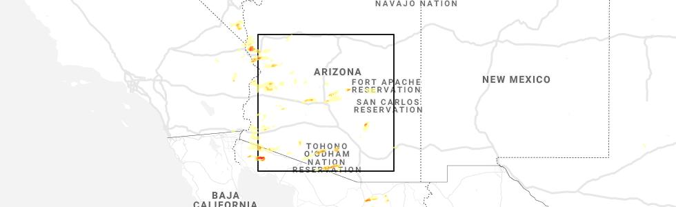 Interactive Hail Maps - Hail Map for Scottsdale, AZ