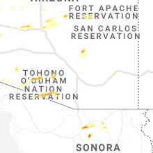 Hail Map for tucson-az 2019-09-23