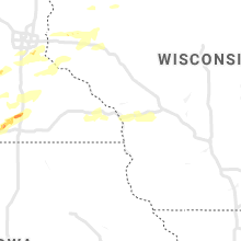 Regional Hail Map for La Crosse, WI - Tuesday, September 24, 2019