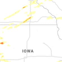 Regional Hail Map for Mason City, IA - Tuesday, September 24, 2019