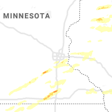 Regional Hail Map for Minneapolis, MN - Tuesday, September 24, 2019