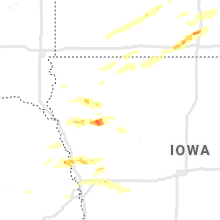 Regional Hail Map for Storm Lake, IA - Tuesday, September 24, 2019
