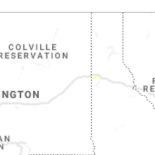 Regional Hail Map for Spokane, WA - Thursday, September 26, 2019