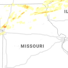 Regional Hail Map for Columbia, MO - Friday, September 27, 2019