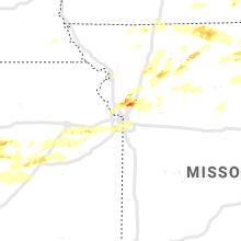 Regional Hail Map for Kansas City, MO - Friday, September 27, 2019