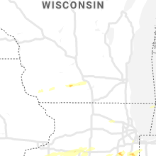 Regional Hail Map for Madison, WI - Friday, September 27, 2019