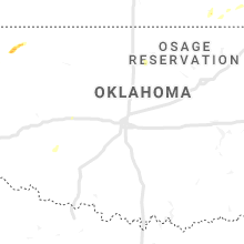 Regional Hail Map for Oklahoma City, OK - Saturday, September 28, 2019